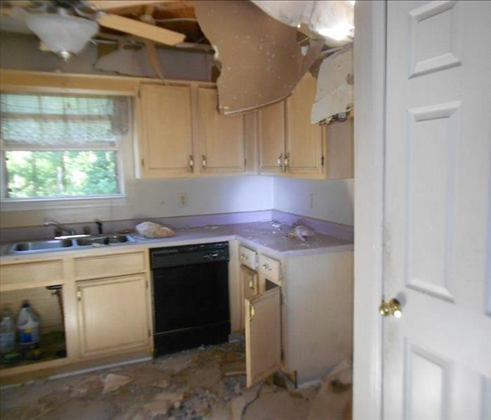 Total Kitchen Rebuild After Fire Before
